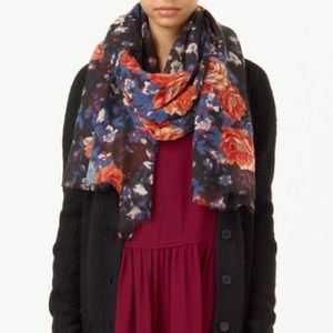 Wilfred Floral Rectangle Scarf